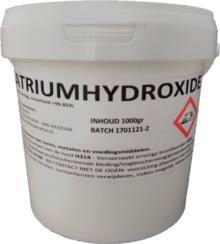 Natriumhydroxide 1000gr