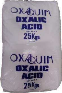 Oxaalzuur / Ontweringswater