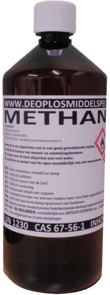 Methanol >99% 1 Liter