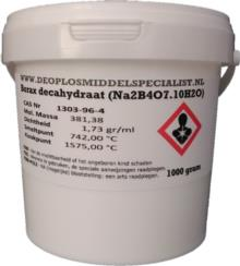 Borax Decahydraat 1000gr