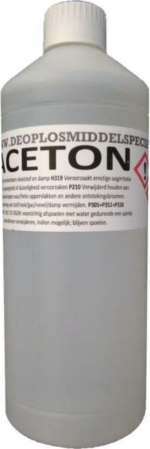 Aceton >99% 1 Liter