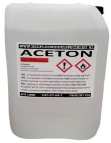 Aceton >99% 20 Liter