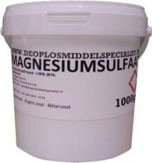 Magnesiumsulfaat - Bitterzout