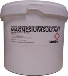 Magnesiumsulfaat Heptahydraat 5kg