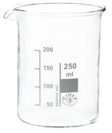 Bekerglas Simax laag 250ml
