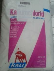 Kaliumchloride 99% 25Kg