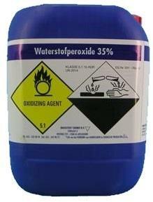 Waterstofperoxide 35% 25Kg
