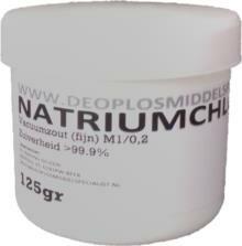 Natriumchloride 125gr