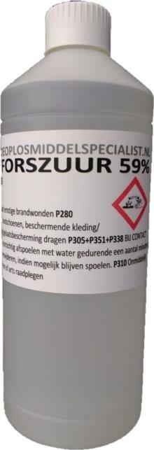 Fosforzuur 59% 1L