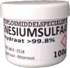 Magnesiumsulfaat Heptahydraat 100gr
