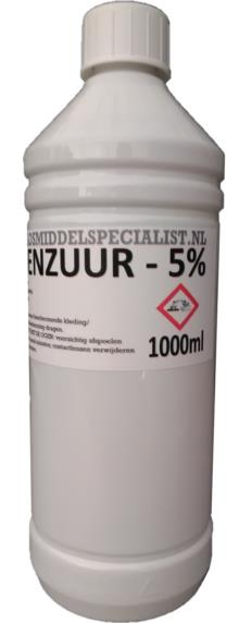 Citroenzuur 50% 1000ml