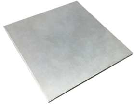 Titanium Plaat 0.5x100x100mm