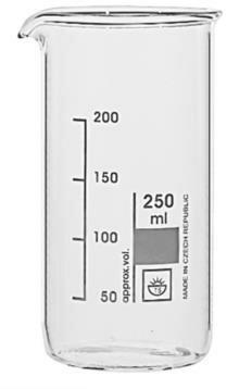 Bekerglas Simax hoog 250ml