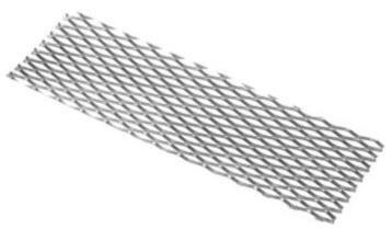 Titanium Mesh 165x50mm