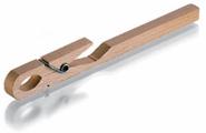 Reageerbuis klem, hout, 175mm